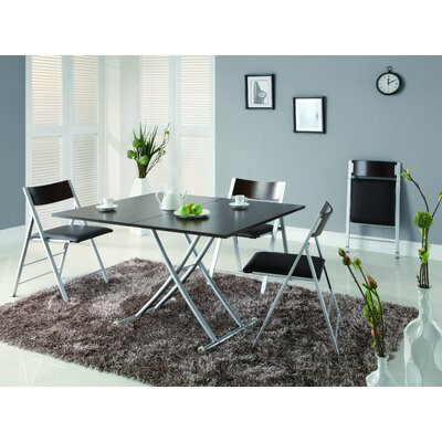 Aspen 5 Piece Dining Set Finish: Espresso