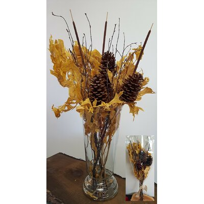 8 Piece Autumn Splendor Bouquet Set