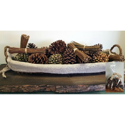 15 Piece Decorative Nature's Bounty Bowl Filler Set
