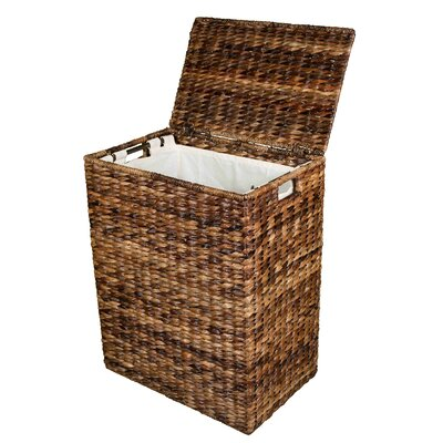 Abaca Wicker Laundry Hamper