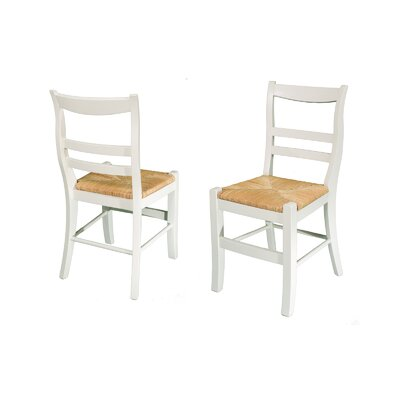 Solid Wood Dining Chair Finish: Antique White