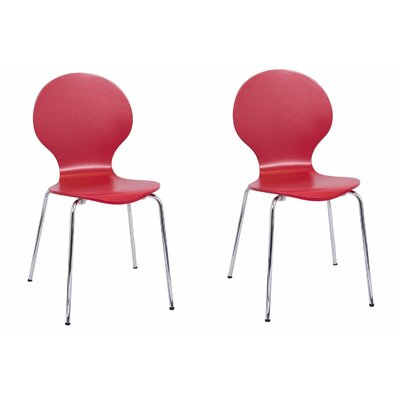 Bentwood Side Chair Finish: Red
