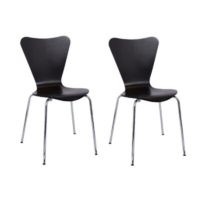 Bentwood Side Chair Finish: Black