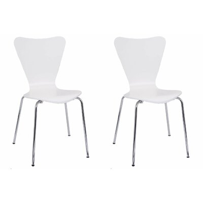 Bentwood Side Chair Finish: White