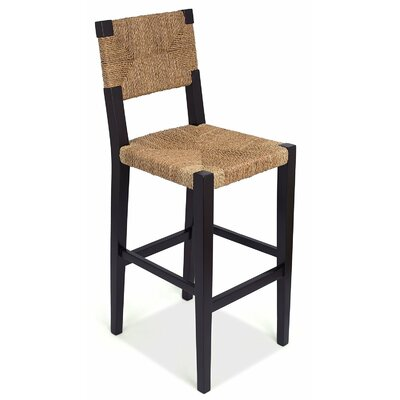 Rush Weave 30 Bar Height Bar Stool