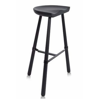 Shoemaker 31 Bar Stool Finish: Antique Black