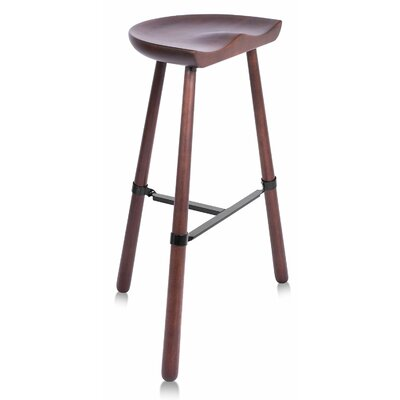 Shoemaker 31 Bar Stool Finish: Dark Brown