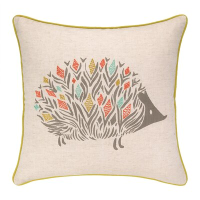 Porcupine Park Printed Reversible Throw Pillow