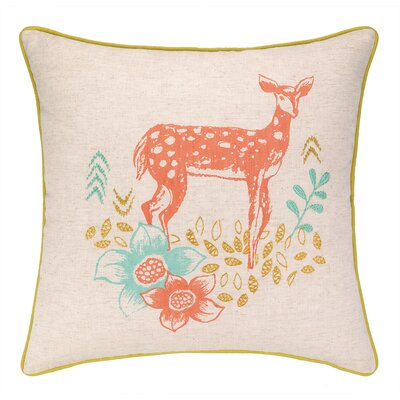 Deer Park Printed Reversible Throw Pillow