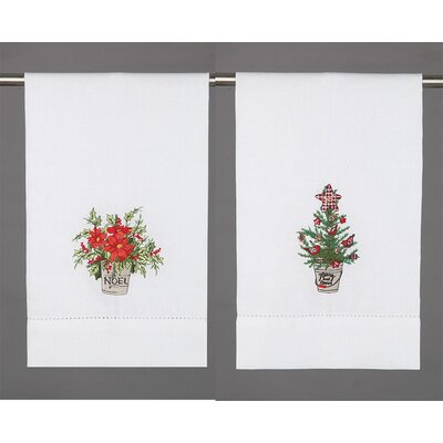 Hand Towel Color: CHRISTMAS TREE & FLOWER
