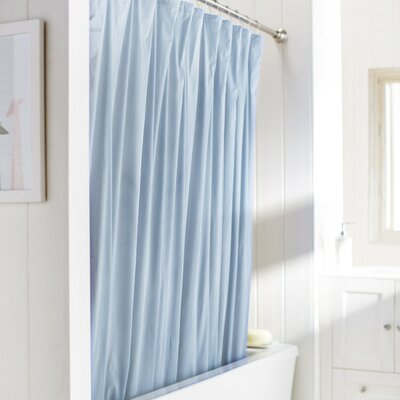 10 Gauge Heavy Duty High Quality Shower Curtain Color: Blue