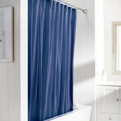 10 Gauge Heavy Duty High Quality Shower Curtain Color: Royal
