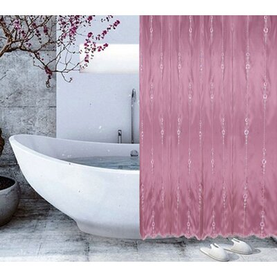 Shower Curtain Color: Grape