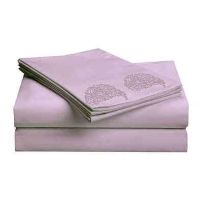 Hotel 1000 Thread Count Sheet Set Color: Lavender, Size: Full