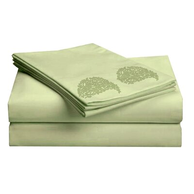 Hotel 1000 Thread Count Sheet Set Color: Lime, Size: Twin