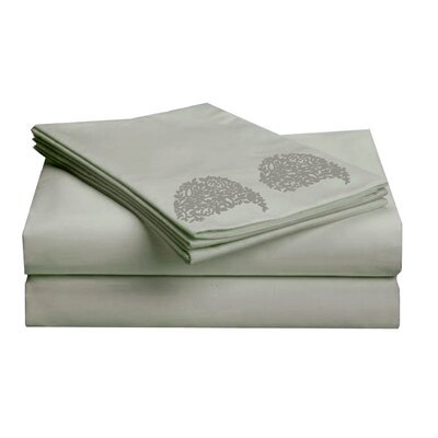 Hotel 1000 Thread Count Sheet Set Color: Silver, Size: Queen