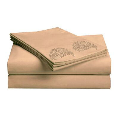 Hotel 1000 Thread Count Sheet Set Color: Copper, Size: Twin