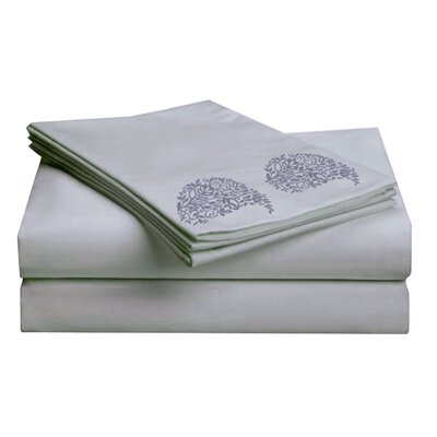 Hotel 1000 Thread Count Sheet Set Color: Blue, Size: Queen
