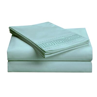 Hotel 4 Piece 1000 Thread Count Sheet Set Color: Teal