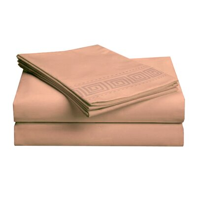 Hotel 4 Piece 1000 Thread Count Sheet Set Color: Tan