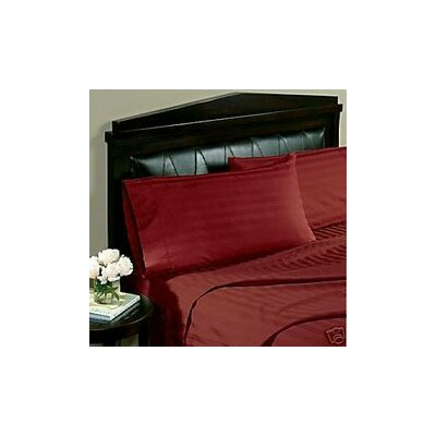 Hotel 1000 Thread Count Sheet Set Color: Burgundy, Size: Full