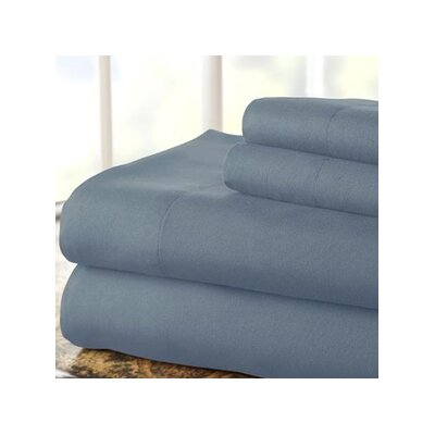 Hotel 1000 Thread Count Sheet Set Color: Blue, Size: Twin