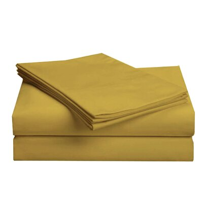 Hotel 1000 Thread Count Sheet Set Color: Wheat, Size: Full