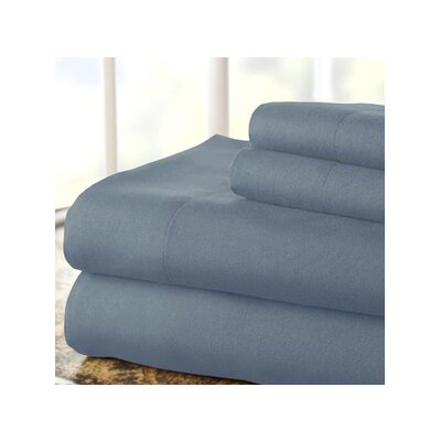 Hotel 1000 Thread Count Sheet Set Color: Blue, Size: King