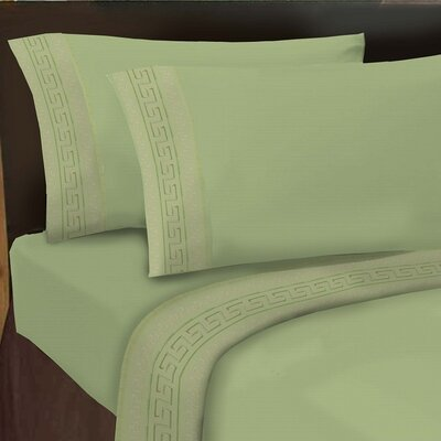 Hotel 1000 Thread Count Sheet Set Color: Sage, Size: King