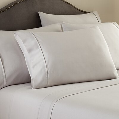 Hotel 1000 Thread Count Sheet Set Color: Gray, Size: Queen