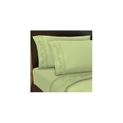 Hotel 4 Piece 1000 Thread Count Sheet Set Color: Sunlight, Size: King