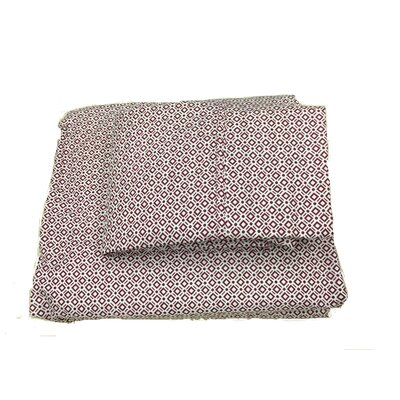 Sheet Set Color: Burgundy, Size: Queen