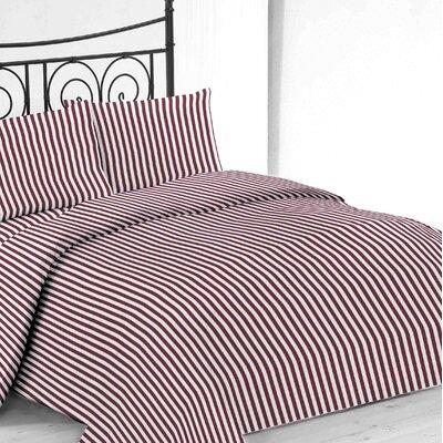 Sheet Set Color: Burgundy, Size: Full