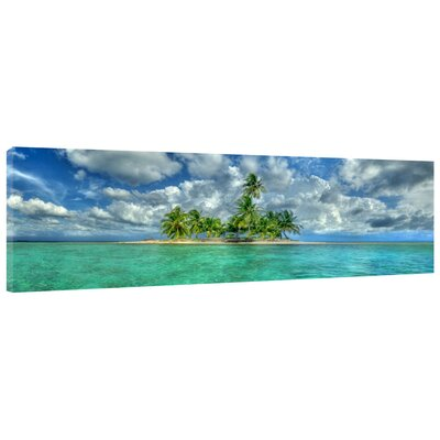 'Paradise Island' Photographic Print on Wrapped Canvas