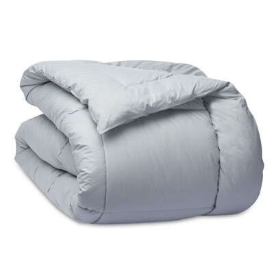 Cloud Down Alternative Cotton Comforter Color: Ocean, Size: Full/Queen
