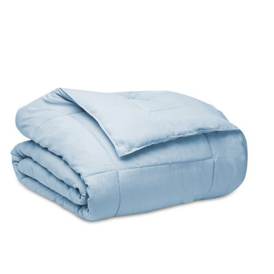 Down Alternative Dream Comforter with Microfiber Shell Size: Full/Queen, Color: Light Blue