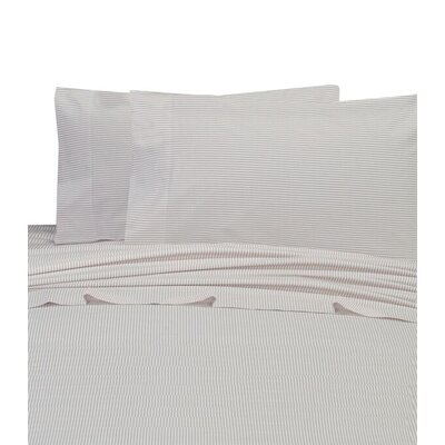 Chambray 200 Thread Count 100% Cotton Sheet Set Size: Queen, Color: Taupe