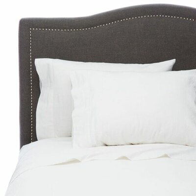 Hemstitch Sheet Set Size: Full, Color: White