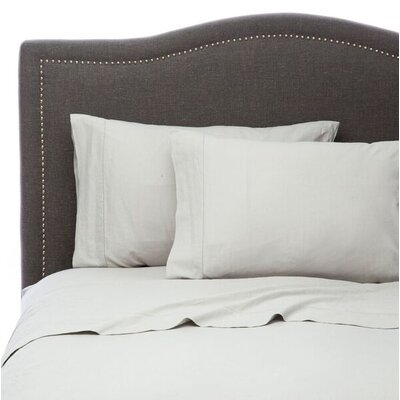 Hemstitch Sheet Set Size: California King, Color: Silver