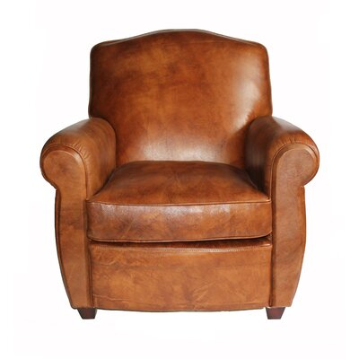 Knight Bridge Leather Club Chair
