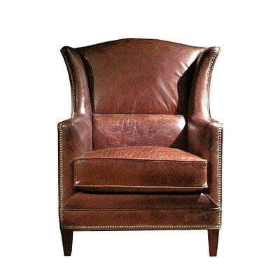 Wing Leather Armchair