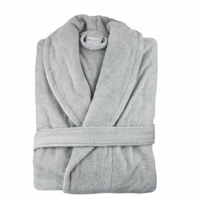Bathrobe Color: Pebble Grey