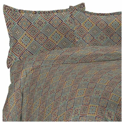 Heritage Reversible Duvet Set Size: Full/Queen