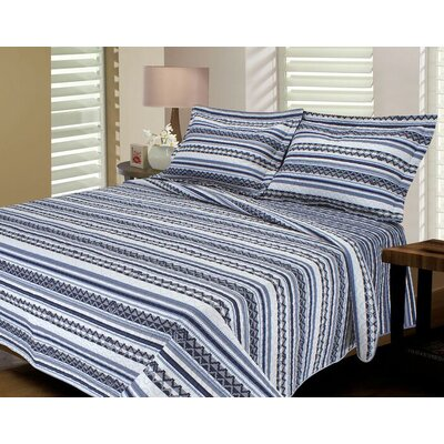 Telluride Reversible Quilt Set Size: Twin / Twin XL, Color: Purple / Charcoal