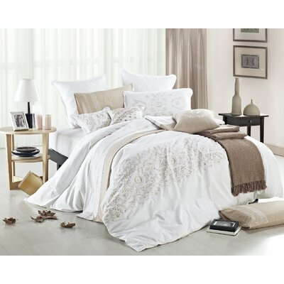 3 Piece Reversible Duvet Cover Set Size: Full / Queen