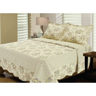 Stax Reversible Quilt Set Size: Full / Queen