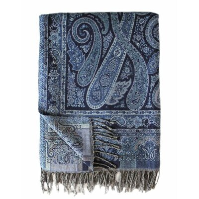 Jacquard Paisley Cotton Throw