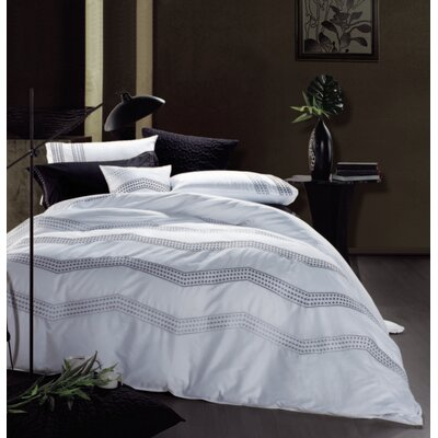 3 Piece Duvet Cover Set Size: King