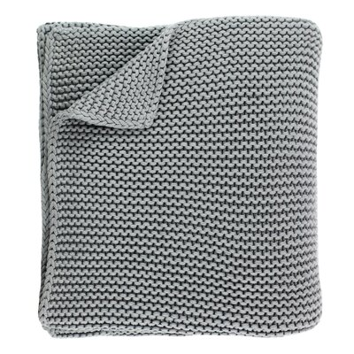 North Branch Heavyweight Cotton Throw Color: Gray