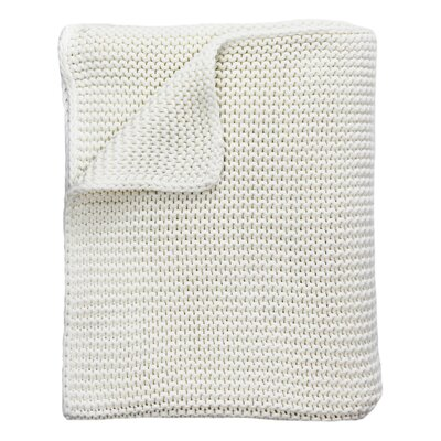 North Branch Heavyweight Cotton Throw Color: Natural